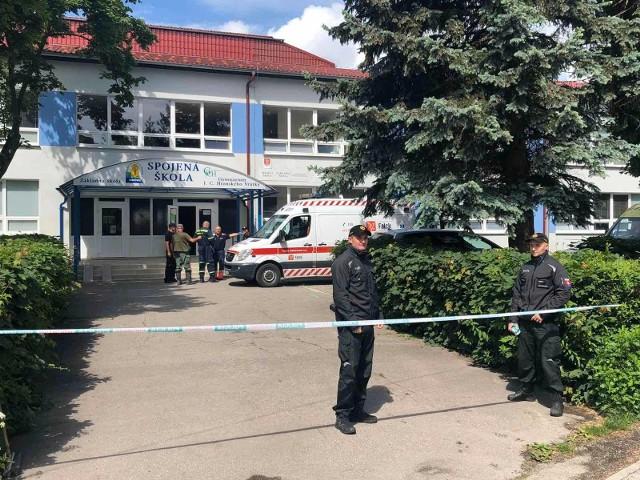 Atak 22-letniego nożownika na Słowacji