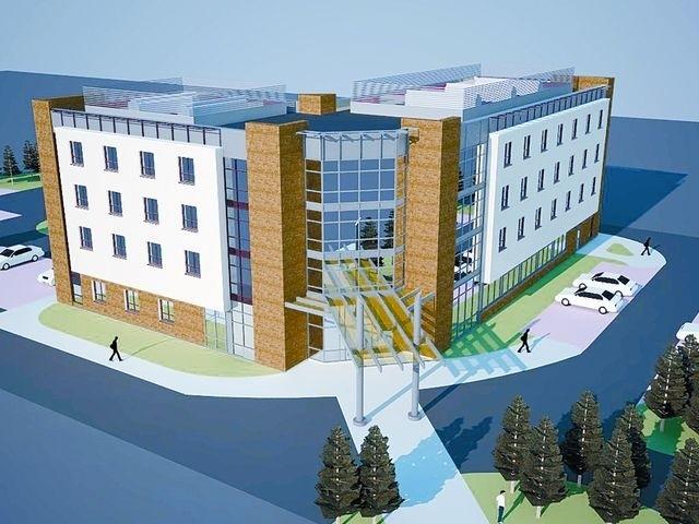 Trzygwiazdkowy hotel uzupełniający ofertę Parku Naukowo-Technologicznego w Suwałkach o bazę noclegową i gastronomiczną ma być gotów w styczniu 2013 roku.