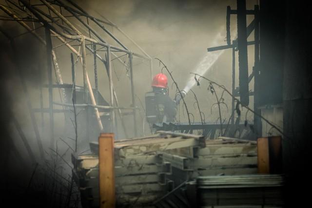 Pożar na ulicy BocznejPożar na ulicy Bocznej
