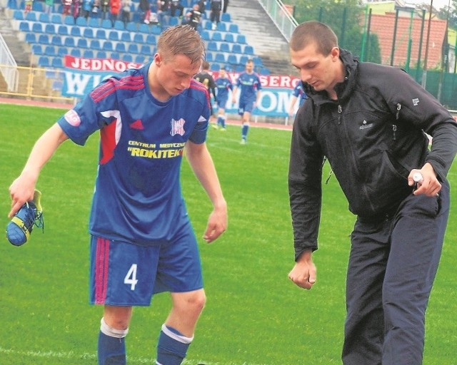 Paweł Bażant rozegrał wczoraj bardzo dobry mecz i miał duży udział w zwycięstwie Wisły z rezerwami kieleckiej Korony.