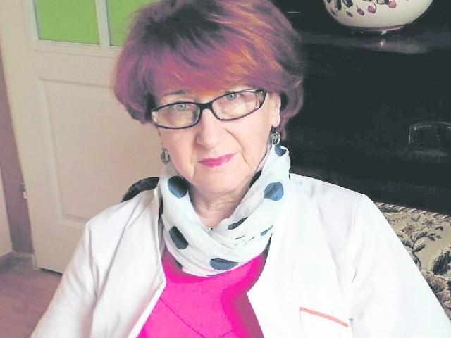 Pani Leokadia pracuje jako pielęgniarka od 1972 roku