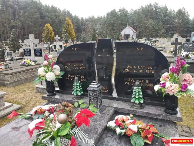 Wandale zniszczyli ok. 30 nagrobków na cmentarzu w Drużykowej Zobacz kolejne zdjęcia/plansze. Przesuwaj zdjęcia w prawo - naciśnij strzałkę lub przycisk NASTĘPNE >>>