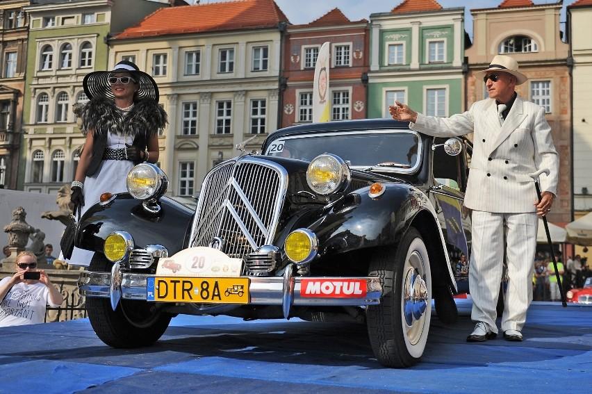 Samochody wezmą też udział w konkursie elegancji, gdzie...