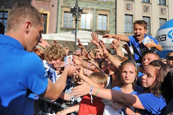 Na Bułgarskiej będzie można spotkać piłkarzy Kolejorza