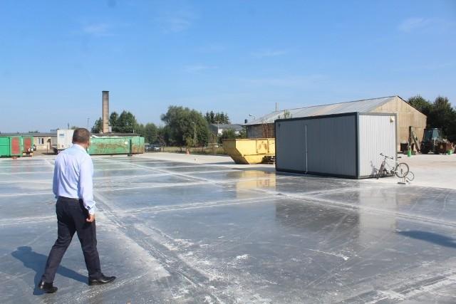 Przebudowa Punktu Selektywnej Zbiórki Odpadów Komunalnych w Gdowie jest już na finiszu. Od 21 września 2021 obiekt wznowi pracę już w pełnym zakresie