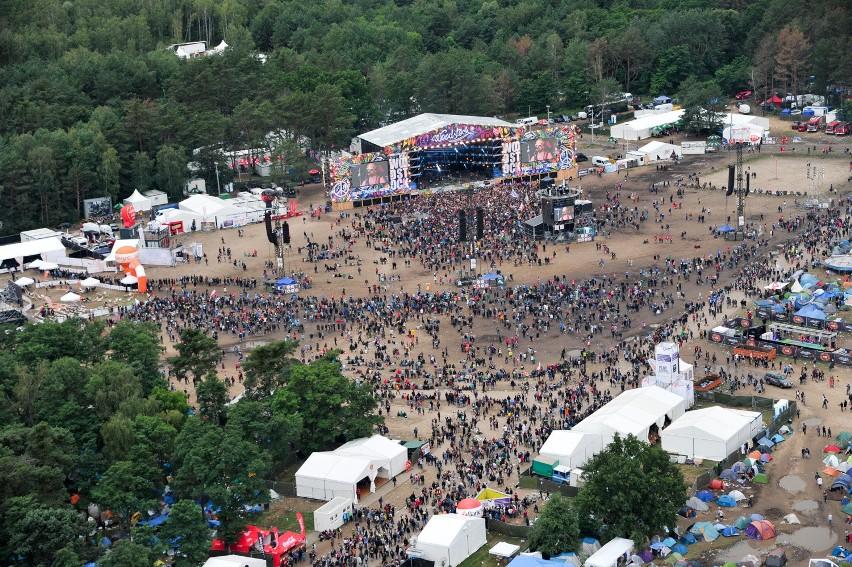 Przystanek Woodstock 2016 z góry! Zobacz niesamowite zdjęcia...
