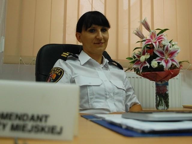 Agnieszka Pawłow jest jedną z niewielu komendantek straży miejskiej w Polsce