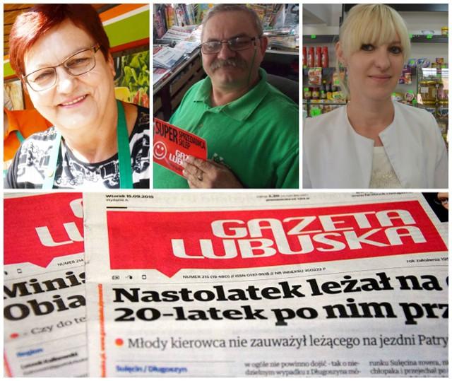 """Zwycięzcy plebiscytu Supersprzedawca """"Gazety Lubuskiej"""""""