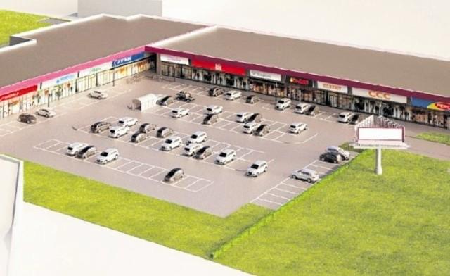 Park Handlowy Centrum Zakupów Bielsk Podlaski powstaje w środku miasta