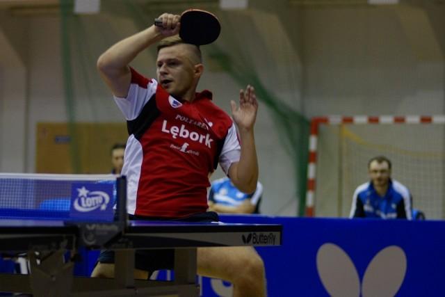 W dynamicznej i efektownej akcji lęborski gracz Bogusław Koszyk