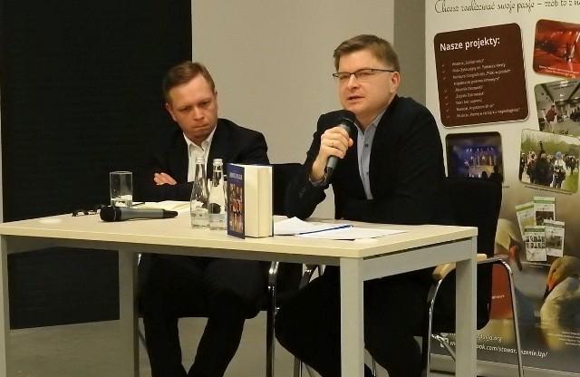 Gościem spotkania był Grzegorz Górny