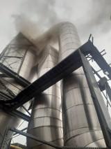 Strażacy interweniują na terenie Bioagry w Goświnowicach pod Nysą