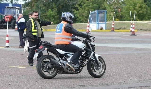 W tym roku nie będą już przeprowadzane egzaminy na motocykloweprawo jazdy.