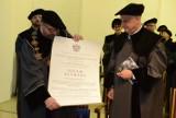 Luc Tuymans odebrał tytuł doktora honoris causa Uniwersytetu Artystycznego