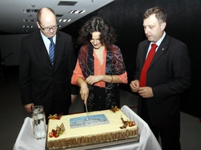Urodzinowy tort Ergo Areny