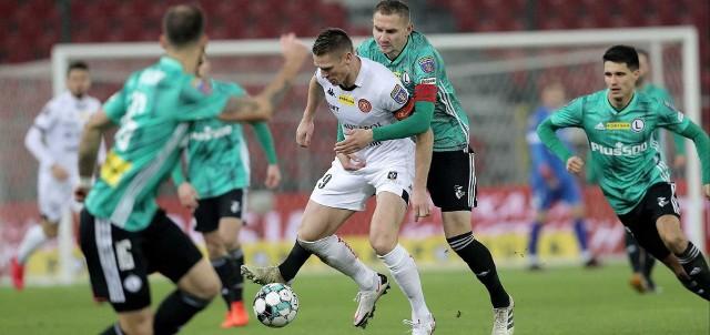 Widzew bez argumentów, a Legia nie forsowała tempa i awansowała w Pucharze Polski