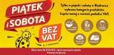 Promocja w Biedronce: bez VAT i w kropki. Piątek i sobota bez VAT potrwa 6 i 7 kwietnia 2018 roku przed niedzielą bez handlu 8 kwietnia