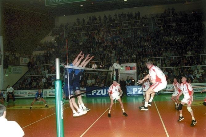 Paweł Papke (w ataku) rozegrał kolejne bezbłędne spotkanie.