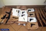 Śledczy przejęli arsenał broni palnej [WIDEO,ZDJĘCIA]