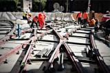 Przedłuża się remont torowiska w centrum Wrocławia