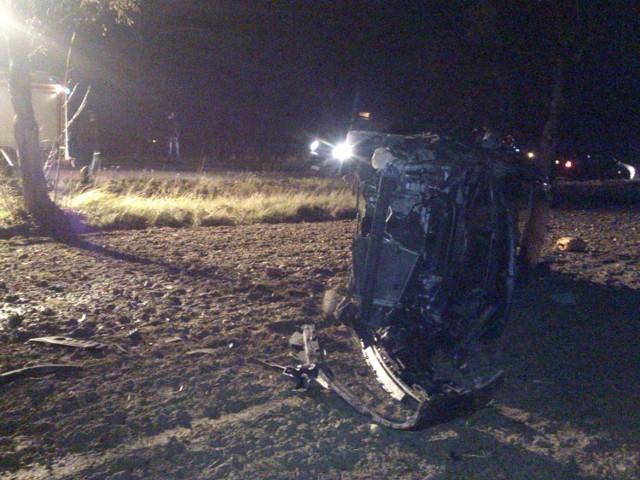 Wypadek w Kowalewie: Jedna osoba trafiła do szpitala