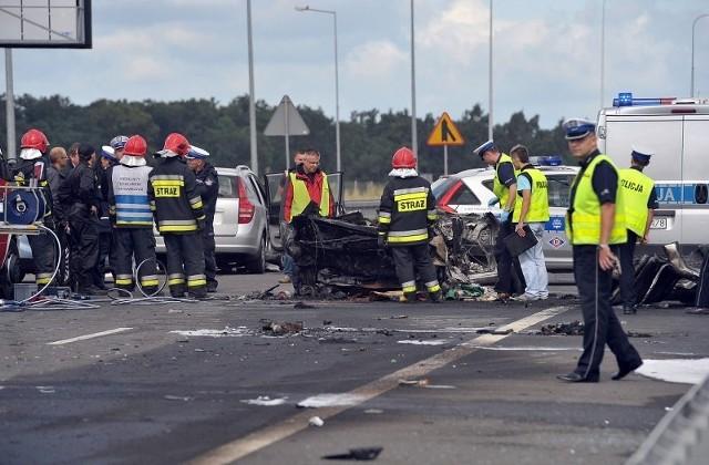 W wypadku na drodze S3 na wysokości Wysokiej Gryfińskiej zginęły trzy osoby