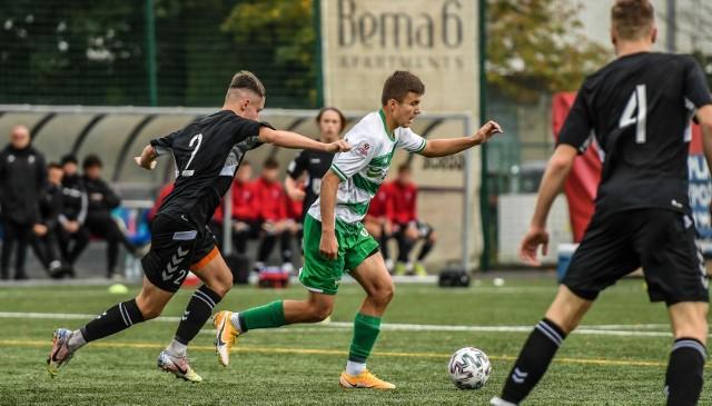Lechia Gdańsk przegrała 1:2 z Górnikiem Zabrze w zaległym meczu Centralnej Ligi Juniorów U-18.