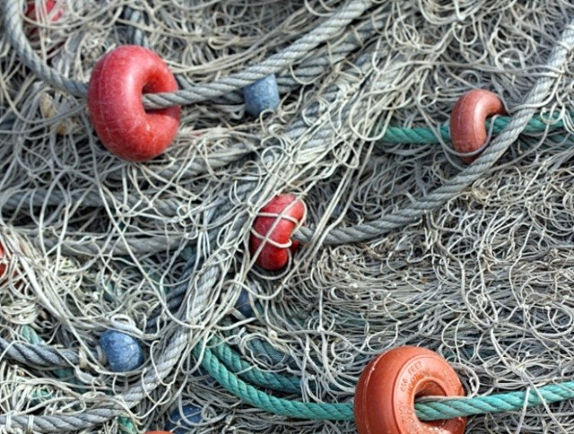 W domu mężczyzn znaleziono sieci do nielegalnego połowu ryb.