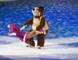 """""""Masza i niedźwiedź na lodzie"""" w Ergo Arenie. Po zeszłorocznym sukcesie rewia na lodzie wraca do Trójmiasta"""