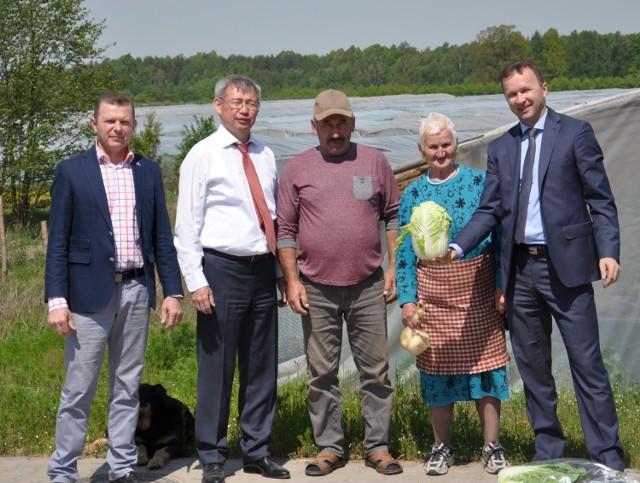 W Klwowie gościł ambasador Kazachstanu Yerik Utem-bayev i rozmawiał z naszymi rolnikami.