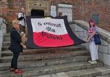 Hyde park w sprawie Polski na krakowskim Rynku. Inicjatywa w ramach Strajku Kobiet