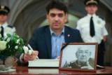 Księga kondolencyjna po śmierci Andrzeja Wajdy