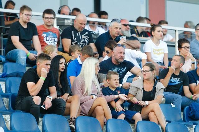 Kibice na meczu Pogoń Szczecin - Lech Poznań (3:0)
