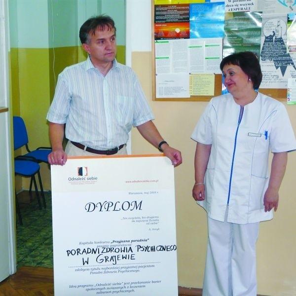 Drugie miejsce w konkursie na najbardziej przyjazną poradnię w Polsce jest wielkim sukcesem grajewskiej placówki