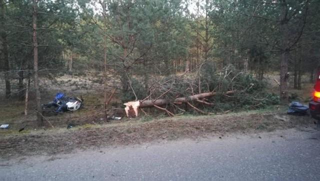 Śmiertelny wypadek na trasie Wdzydze Tucholskie-Borsk. Nie żyje motocyklista