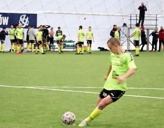 Jakub Adkonis zdobył jedynego gola dla Olimpijczyka