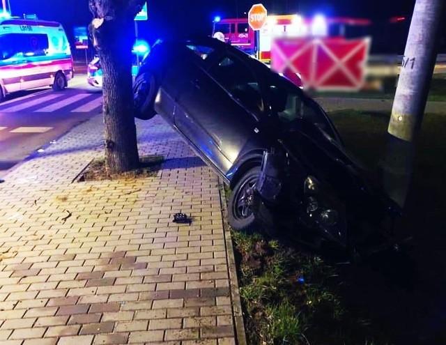 Do tragicznego wypadku doszło w sobotni wieczór w Kocku