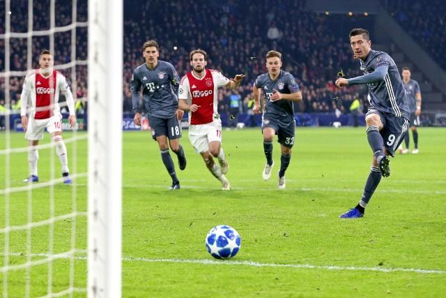 Po dwóch golach strzelonych Ajaksowi Amsterdam, Robert Lewandowski ma już na koncie osiem trafień w tej edycji Ligi Mistrzów.