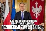 Andrzej Duda pomylił rezurekcję z insurekcją MEMY Internauci komentują wpadkę prezydenta na rocznicę wybuchu III Powstania Śląskiego