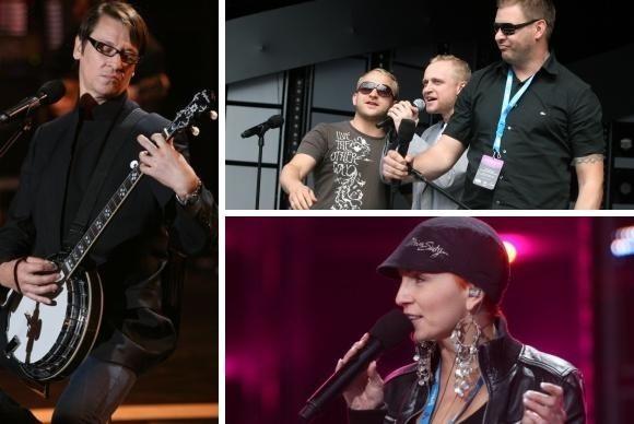 Maciej Maleńczuk i Ania Wyszkoni wystąpią w Premierach, a Szyc Shock Boys w koncercie aktorów otwierającym Opole 2009.