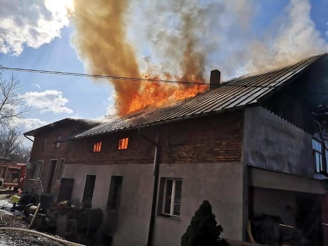 Pożar, który wybuchał 10 marca w starym młynie w Sygneczowie zniszczył w jednej chwili dorobek życia kilku pokoleń