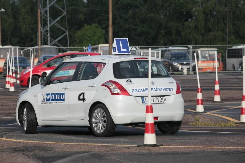 Egzamin na prawo jazdy w Łodzi. Plac manewrowy trudniejszy niż miasto