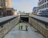 Tunel nabrał kształtu. Na placu budowy podziemnej drogi w Nowym Centrum Łodzi