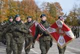 Święto brygady sieradzkiej z udziałem żołnierzy USA. Sztandar WP dla jednostki ZDJĘCIA