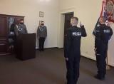 Nowi funkcjonariusze w szeregach koszalińskiej policji [ZDJĘCIA]