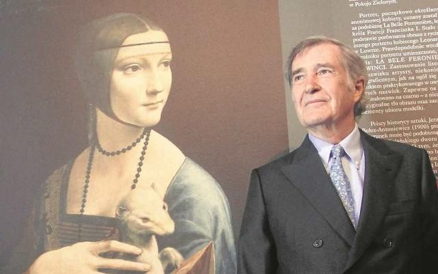 """""""Dama z gronostajem"""" to najcenniejszy obiekt w kolekcji, którą Adam Karol Czartoryski sprzeda państwu polskiemu"""