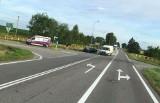 Zawady. Wypadek na trasie Jeżewo Stare - Łomża. Jedna osoba poszkodowana (zdjęcia)