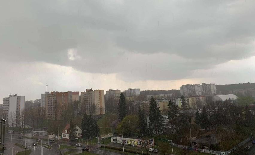 Nad zachodnią Polskę nadciągnęły chmury, z których może...