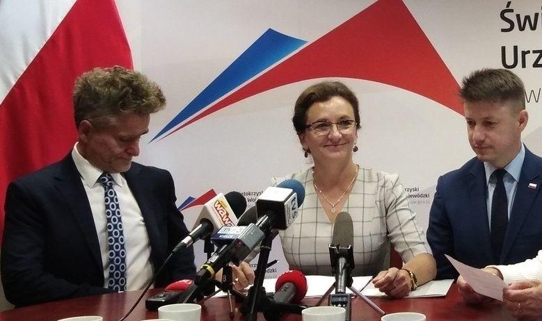 Wojewoda Agata Wojtyszek poinformowała o dużych pieniądzach...