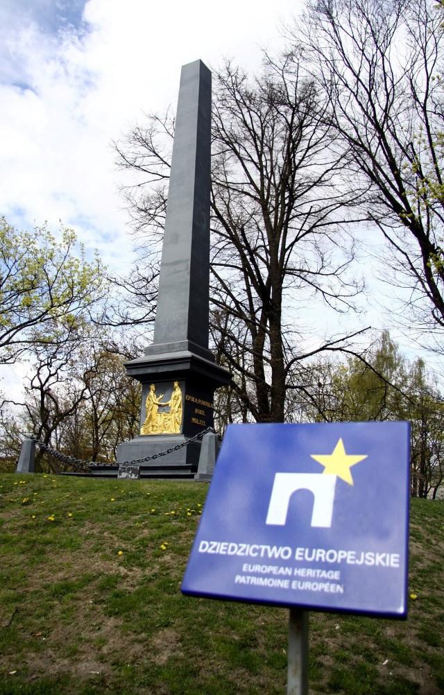 Pomnik Unii Lubelskiej na placu Litewskim.